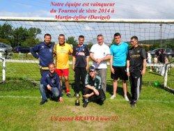 Tournoi de sixte de Davigel à Martin-église 2014 (nous sommes vainqueur cette année) - Association Foot en salle Lensois d'Envermeu