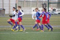 GJ U18 contre Fontenay D1 Phase 2 , match nul 1 à 1 - GJ OLONNE-CHATEAU