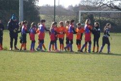 GJ U14 Féminine contre St George de Montaigu , Match nul 3 à 3 - GJ OLONNE-CHATEAU