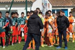 Match U16.17 contre La Leu - C.J.F. EN COEUR DE SAINTONGE