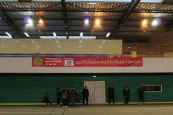 Rencontre Futsal avec les équipes U10/U13F et U14/U17F à Médis le 07-01-2017 - C.J.F. EN COEUR DE SAINTONGE