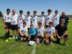 Equipe U15 championnat le 26-05-2018 - Groupement du Haut Cher