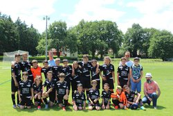 Equipes U11 et U13 au Tournoi à DOMERAT le 09-06-2018 - Groupement du Haut Cher