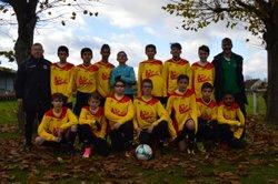 Equipe U15 le 25-11-2017 - Groupement du Haut Cher