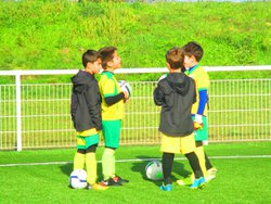 Entrainement U8-U9 du mercredi 08 novembre 2017 - FC GOELANDS SANMARITAINS