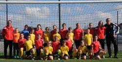 Foot animation U11 A et B octobre à Julien Denis - Grand Calais Football Féminin