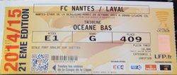 28/10/2014 : 16ème CDL Nantes Vs Laval. - JA Soulgé sur Ouette