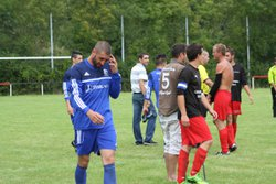 Match coupe de France JA-ST SULIAC gagné 5-1 - JEANNE-D'ARC SAINT-SERVAN                (SAINT-MALO)