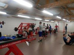 Nouvelle salle de renforcement musculaire - JEANNE-D'ARC SAINT-SERVAN Club         (SAINT-MALO)