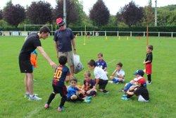 U7 à l'entraînement - Jeunes Footballeurs du Cagire