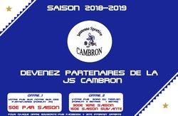 Devenez Partenaires de la JS Cambron - Jeunesse Sportive de Cambron