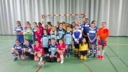U13F - 03/02/18 - Futsal à Auzeville - Jeunesse Sportive Cintegabelloise