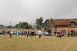 Reprise des cours du samedi beaucoup de parents présents, des enfants heureux de se retrouver... - Jeunesse Sportive Tinchebray