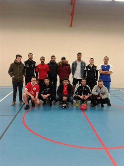 foot salle - Sport et Loisirs La Chapelle Du Bois
