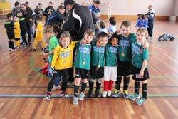 Nos U7 en tournoi à Voiron le 03 janvier 2015 - Union sportive La Murette