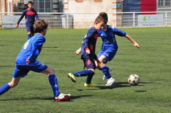 Les U13 B contre NANTES METALLO SPORT 2 : victoire 4-2 - LA SAINT PIERRE DE NANTES