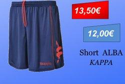 Short Alba Adulte KAPPA
