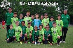 U11 - 2éme du Tounoi de Cébazat - 17 juin 2017 - Lempdes Sport Football