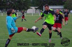 Les Vétérans en action - Lempdes Sport Football