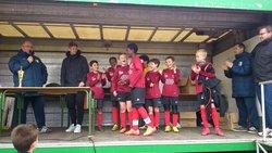 les U11A vainqueurs du tournoi FC RELECQ - Légion Saint Pierre