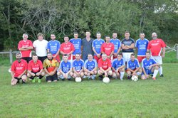 Match contre les anciens du club, le 25/08/2017 - AS LUGARDAISE