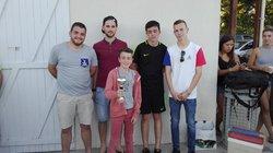Remise des récompenses du tournoi de l'Assemblée Générale - Monflanquin Football Club