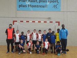 Rencontre u10 u11 ACM Noisy le Grand 3-3 - Associazione Club Montreuil Futsal         ACM MONTREUIL FUTSAL