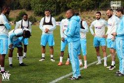 ENTRAINEMENT DU SAMEDI 30 AVRIL 2016 . - Olympique DE Marseille .