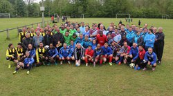 Tournoi anciens - 8 mai 2017 - Olympique Moncourt Fromonville