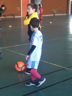 Stage de Football à St Jean : Mardi 20 février 2018 - OLYMPIQUE NORD DAUPHINE