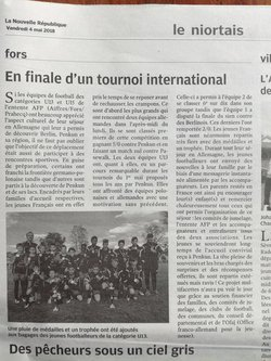 Voyage Penkun 2018 - samedi 28 avril - Olympic Sporting Club de Fors