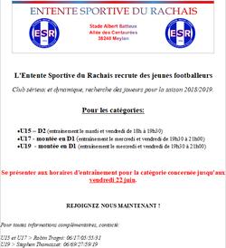 DETECTION U15-U17-U19