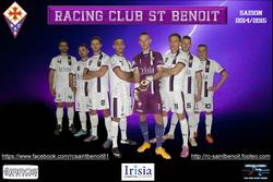 Couverture nouveaux maillots - RC Saint-Benoit