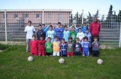 PHOTOS  stage de football 2008 à 2014 - rc bedoin