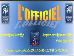 """Le Rfc dans """"L'officiel"""" - REMOULINS FC"""