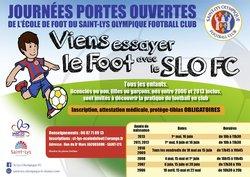 Journées Portes Ouvertes de l'école de Foot
