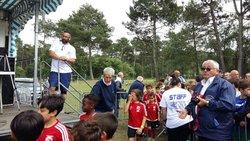 Le samedi 11 juin a eu lieu la journée des débutants à Saint Aubin de Médoc pour clôturer la saison 2015-2015 - SPORTING CLUB DE LA BASTIDIENNE