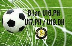 Bilan de la saison 2015/16 : U16-U17-U19