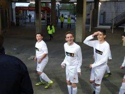Les U15 au stade rennais - SC GOVEN