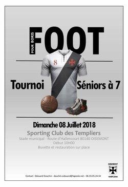 Tournoi Séniors à 7 ! - Sporting Club des Templiers de Oisemont