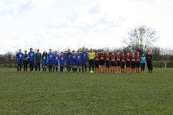 SCBFC U13 VS U14 F Verchers S/Layon - SAINTE CHRISTINE - BOURGNEUF FC