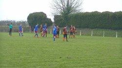 SCBFC U15 - OLYMPIQUE SAUMUR U15     16EM DE COUPE DE L'ANJOU - SAINTE CHRISTINE - BOURGNEUF FC