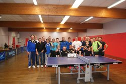 23/12/2016 : 1er Tournoi de Tennis de Table du SCG Football - SPORTING CLUB GEMMOIS