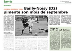 3e tour Coupe de France - 10/09/2017 - SFC BAILLY NOISY-LE-ROI