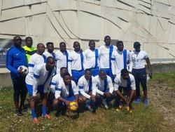 la jeune équipe des techniciens - SANTE FOOTBALL  CLUB DE GRIGNY