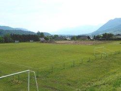 Avancement depuis 2 semaines du stade synthétique multi-activités de St Pierre d'Albigny. - ST PIERRE SPORT FOOTBALL