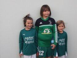 Nos petits......(merci aux parents pour les photos) - SAINT ROMAIN ATHLÉTIC CLUB ( Club labellisé FFF)
