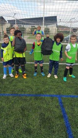 Photos Action éducative u9: Savoir faire son sac et bien s'équiper - Saint Sébastien Football