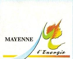 """Ville de MAYENNE """" L' ENERGIE """" avec le Stade MAYENNAIS FC"""