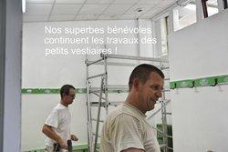 Les travaux continuent à Lacombe ! - STADE RUFFECOIS